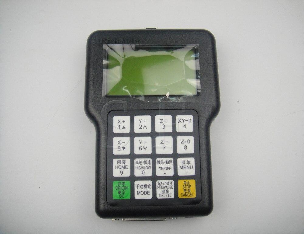 Contrôleur DSP de mouvement de machine de CNC de 3 axes A11 clavier à distance de protection de contrôle de main de marque de RICHAUTO