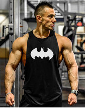 Batman mens tank top gyms clothing bodybuilding golds stringer tank tops for men sleeveless shirt regatas masculina fitness vest