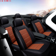 Car Believe Auto automobiles Cowhide leather car seat cover For Jeep Grand Cherokee Wrangler patriot compass car accessories