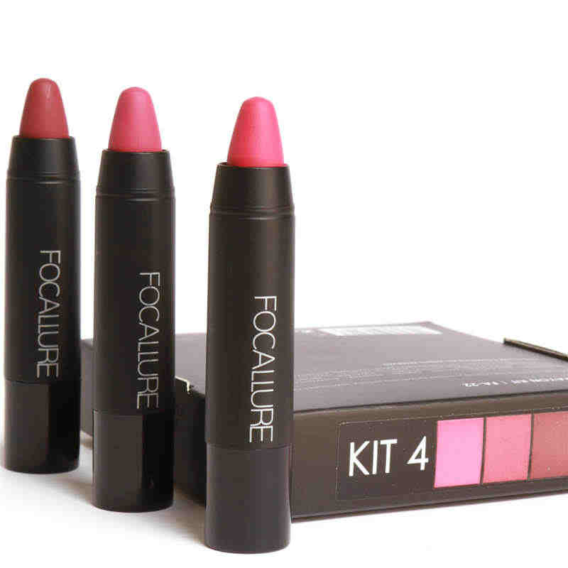 Lunga Durata Cosmetici Lip Liquido Matita Rossetto Opaco Lip Gloss cosmetici Trucco trucco di marca Focallure