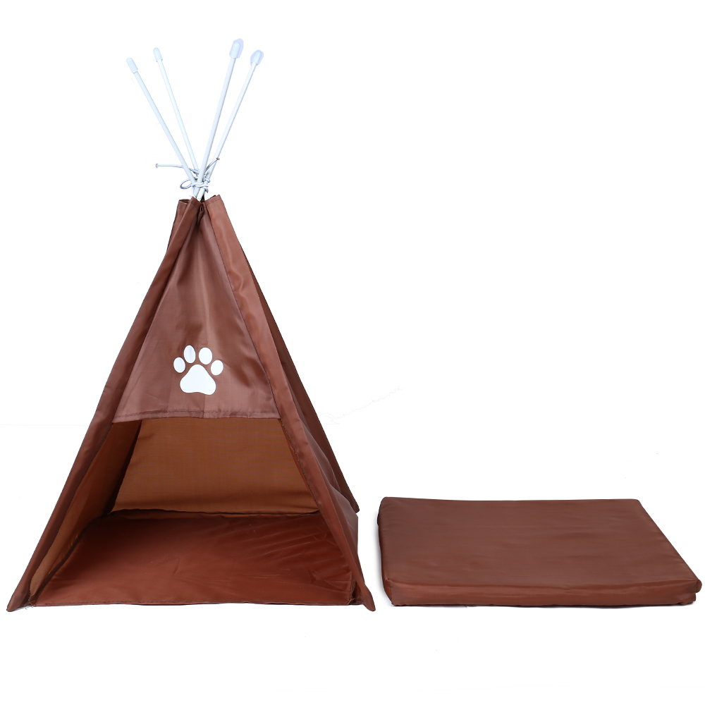 Pet House Tent Shaped Pet Cozy House Cat Home Small Dog Cat Foldable Bed Cat House Puppy Kitten Bed Animals Home Products 7