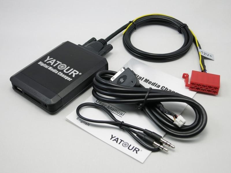 Yatour Digital Media Changer YT-M07 For VW Gamma 4 Head Unit 10-Pin Golf jetta passat iPod / iPhone / USB / SD / AUX All-in-one