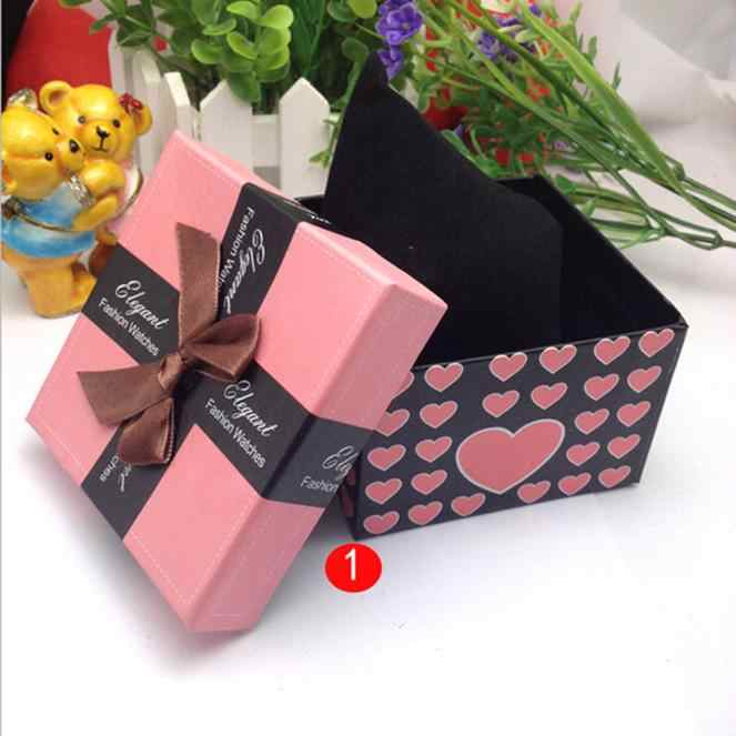 Splendid Unique design high quality Present Gift Box Case For Bracelet Bangle Jewelry Watch Box