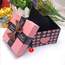 Splendid Unique design high quality Present Gift Box Case For Bracelet Bangle Jewelry Watch Box(China)