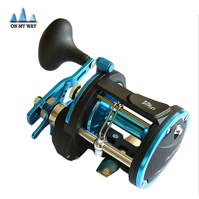 aliexpress : buy 2016 new 3+1bb act40c drum saltwater fishing, Reel Combo