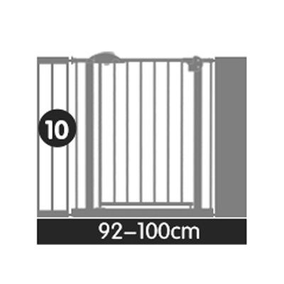 Solid Stair Guardrail Baby Child Safe Gate Pet Isolating Dog Fence Fence Child Safe Iron Baby Safety Fence Baby Stairs