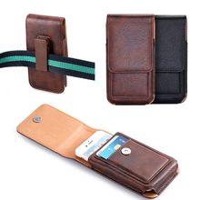 Case For Asus Zenfone Max (M1) ZB556KL/Lite (L1) ZA551KL/Live (L1)ZA550KL Universal Man Waist Bag Case With Clip Belt Phone Case