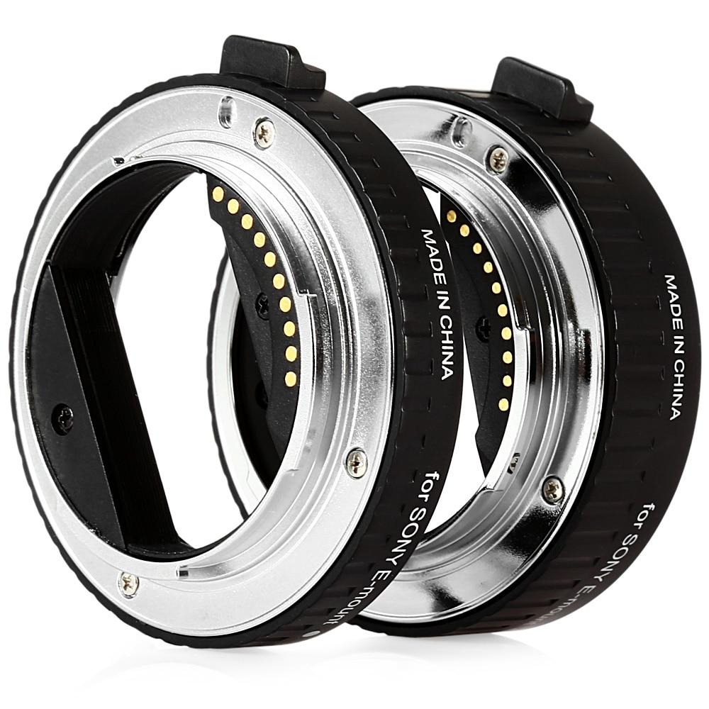 Viltrox DG - NEX 10MM 16MM AF Auto Focus Macro Extension Tube For Sony E-Mount A7 NEX7 A5000