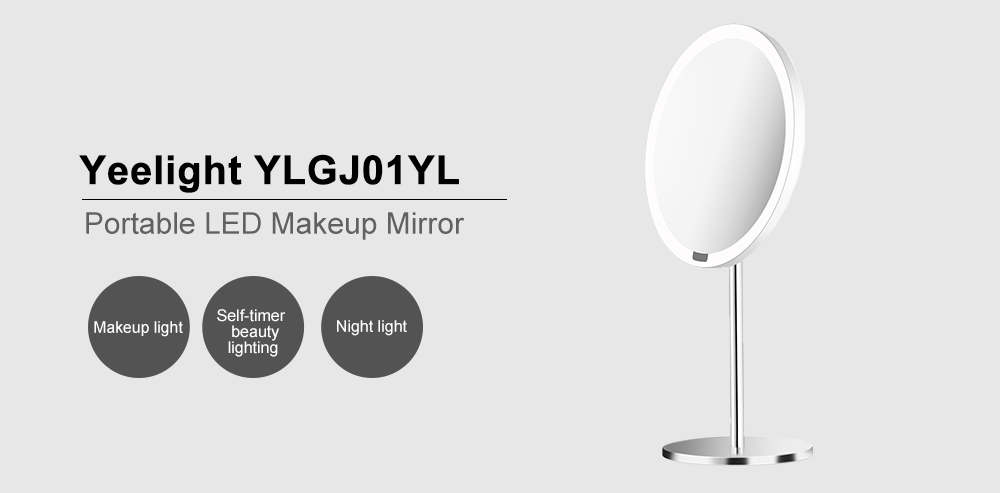 Aliexpress.com : Buy Yeelight Portable LED Makeup Mirror With Light For  Table Decoration Creative Night Light From Reliable LED Night Lights  Suppliers On ...