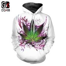 OGKB Hombre Hoodies Sweatshirts Hot Long 3D Pullover Printing American Flag Casual Large Size Costuming Autumn Hoody Wholesale(China)