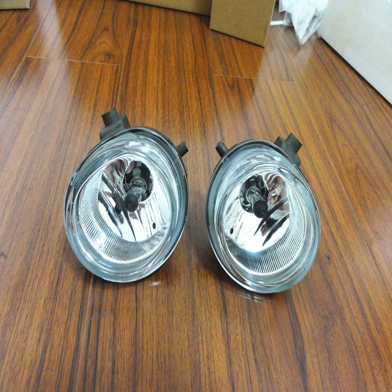 1Pair RH+LH Side Front Bumper Fog Lamps Lights With Bulbs For Mazda 5 2006-2010