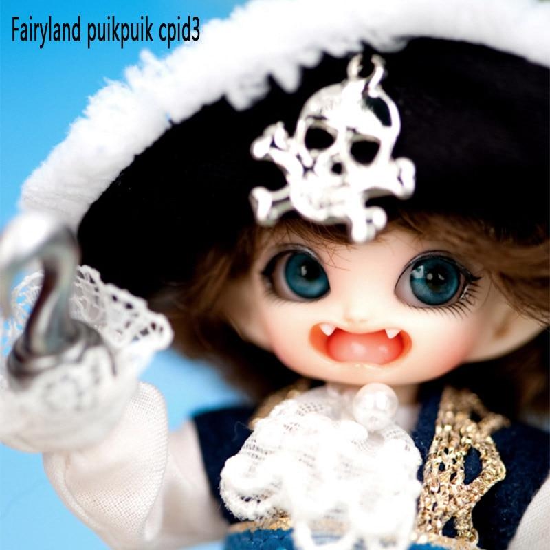 OUENEIFS Cupid3 Pukipuki Fairyland 1/12 bjd sd docka hartsfigurer modell baby dockor ögon Hög kvalitet leksaker butik