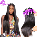 Cheapest 10A Virgin Brazilian Straight Human Hair Bundles, 3pcs 100 Real remy Brazilian Hair,Unprocessed Brazilian Straight Hair