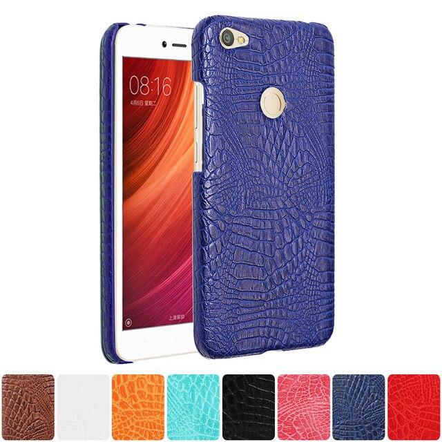 buy popular 69435 ddd1b US $4.69 |Leather Case for Xiaomi Redmi Note A5 5A Phone Bumper Fitted Case  for Xiaomi Redmi Note5A / Redmi Y1 Hard PC Frame Cover capa-in Phone ...