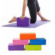 5 Colors High Quilaty EVA Yoga Block Brick Foaming Foam Home Exercise Fitness Health Gym Practice Tool 23*15*7.5