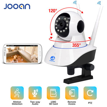 JOOAN IP Camera 1080p Wireless Home Security IP Camera Surveillance Camera Wifi  CCTV Camera Baby Monitor with 30days free could
