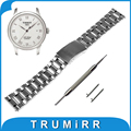 18mm 20mm 22mm Quick Release Watch Band for Tissot 1853 T035 / PRC 200 T055 / T097 Stainless Steel Strap Wrist Bracelet + Tool