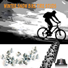 300pcs 6 5mm 0 26inch Winter Studded Mountain Bike Spikes for Fat bike Mount Tyre Snow Studs Aluminum Tire Studs Sharp Carbide Tips review