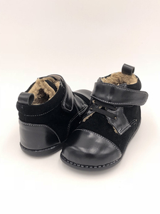 Image 2 - Tipsie Toes 2020 New Winter Children Shoes Genuine Leather Martin Boots Kids Snow Girls Boys Rubber Fashion Sneakers