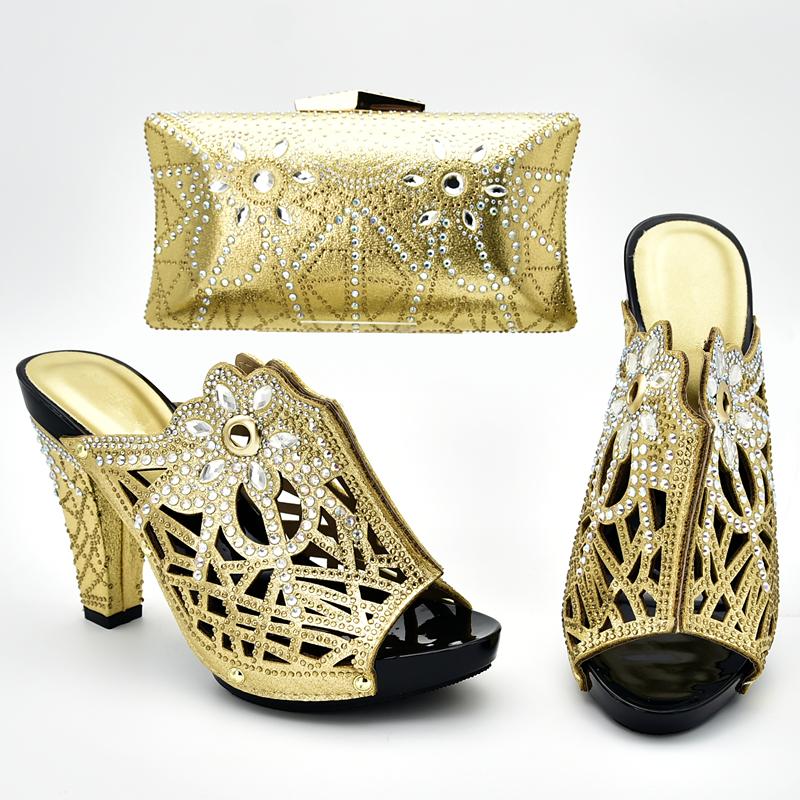 Italy Italian Matching Shoe and Bag Set
