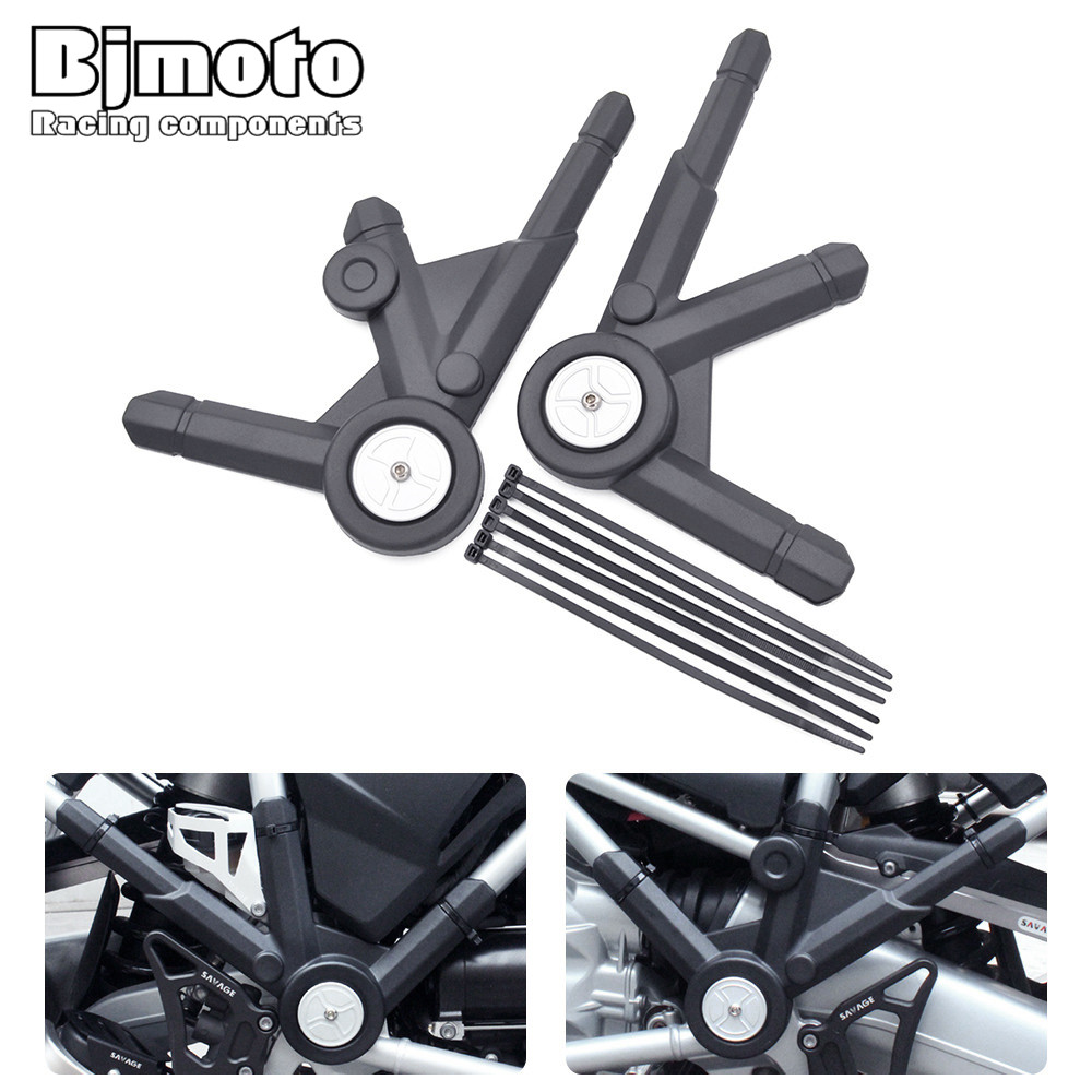 Motorcycle Accessories Left Right Side Frame Panel Guard Protector Covert For BMW R1200GS LC 2013-2016 R1200 GS LC Adventure rubing matching motorcycle accessories ybr125k end cover assembly on the left side of ash