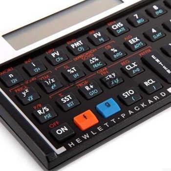 Hot Sale HP 12C Platinum AFP CFP CMA FRM/CFA Exam Computer Financial Planner Financial Planning Calculator