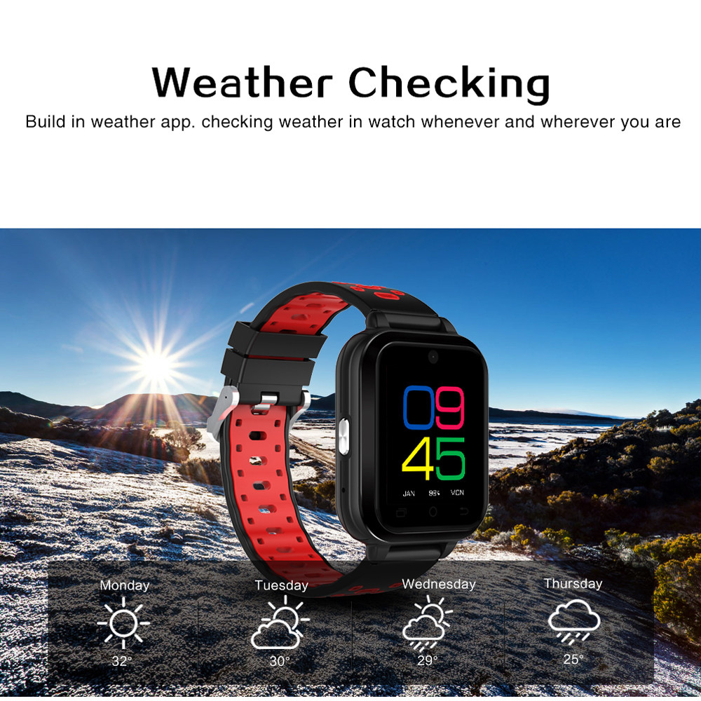Q1Pro Android 6.0 4G Bluetooth Smart Watch Phone Call 1G RAM 8G ROM GPS WIFI IP67Waterproof Smart Watch 15J Drop Shipping