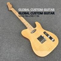 High quality tl guitar Custom Electric Guitar,Elm body, 6 Strings Guitars,Real photos,free shipping