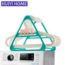 HUIYI HOME Clothes Hanger Storage Shelf Multi Function Finishing Rack EGA052