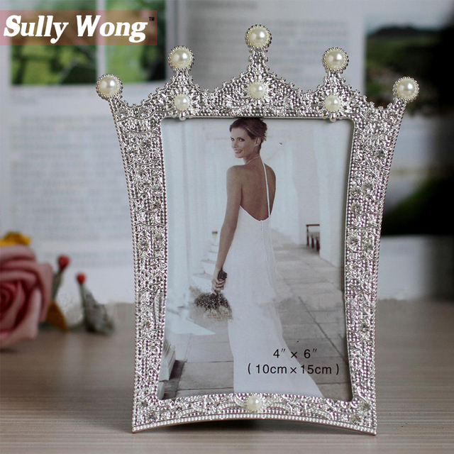 Sully Wong Free Shipping 2017 Hot Crown with Pearls and Crystal ...