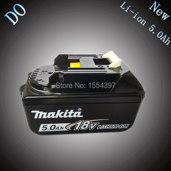 5000mAh Rechargeable Lithium Ion Power Tool Battery Replacement for Makita 18V BL1830 BL1850 LXT400 194205-3 194230-4 BL1840 New hot 2x 18v 4 0ah battery for makita bl1840 bl1830 bl1815 lxt lithium ion cordless