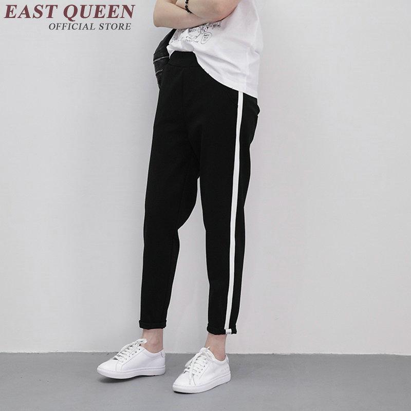 on sale 2018 shoes high quality guarantee US $26.4 45% OFF|Track pants women harem drawstring green cropped joggers  women sweat pants female trousers sweatpants streetwear AA1284-in Pants &  ...