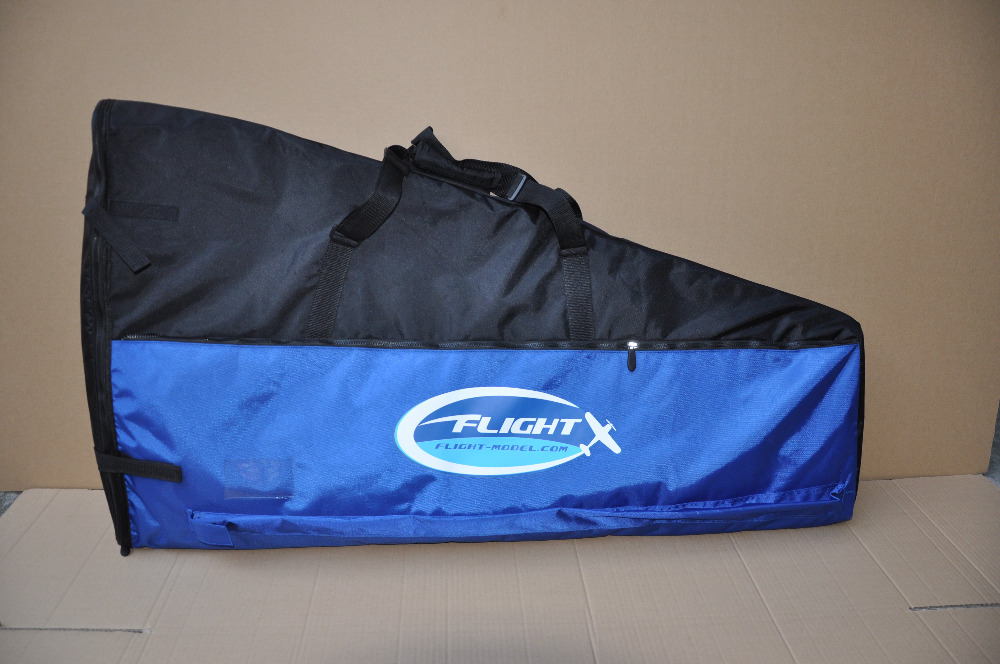 New Flight Model 50-70cc Airplane Protective Wing Bag For 86-93in 3D plane(50-70CC) Gas Airplane With Two Pockets new phoenix 11207 b777 300er pk gii 1 400 skyteam aviation indonesia commercial jetliners plane model hobby