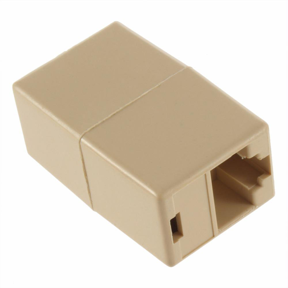 Image 5 - RJ 45 SOCKET RJ45 Splitter Connector CAT5 CAT6 LAN Ethernet Splitter Adapter Network Modular Plug For PC Lan Cable-in Computer Cables & Connectors from Computer & Office
