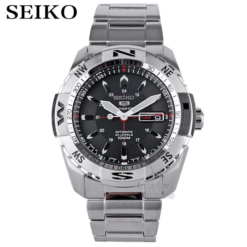 Seiko 5 спорт 24 камней автоматические Для мужчин смотреть сделано в Японии SRP685J1 SRP687J1 SRP689J1 SNZJ05J1 SRPB86K1 SRPB85K1 SRPB81K1