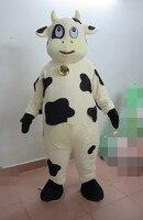 Лидер продаж корова Маскоты костюм коровы Маскоты вечерние платье