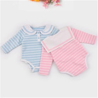 Baby Romper Long Sleeve 2017 New Spring Striped Cotton Boys Sailor Suit Peter Pan Collar Newborn