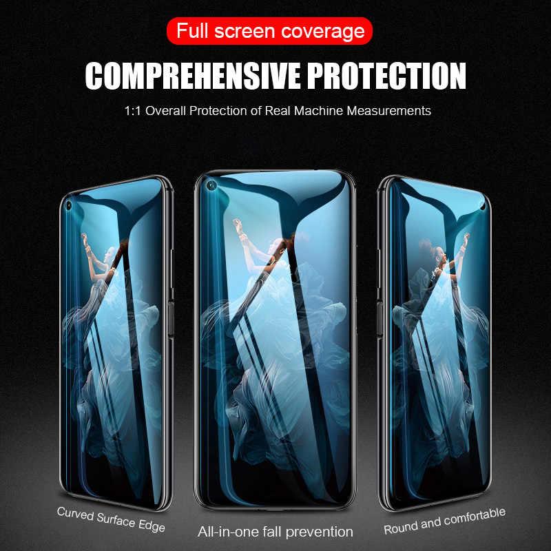 4 PCS กระจกนิรภัยสำหรับ huawei p30 p20 pro mate 20 10 lite ป้องกันสำหรับ Honor 20i 20 10i 8 S 8X9 แก้ว