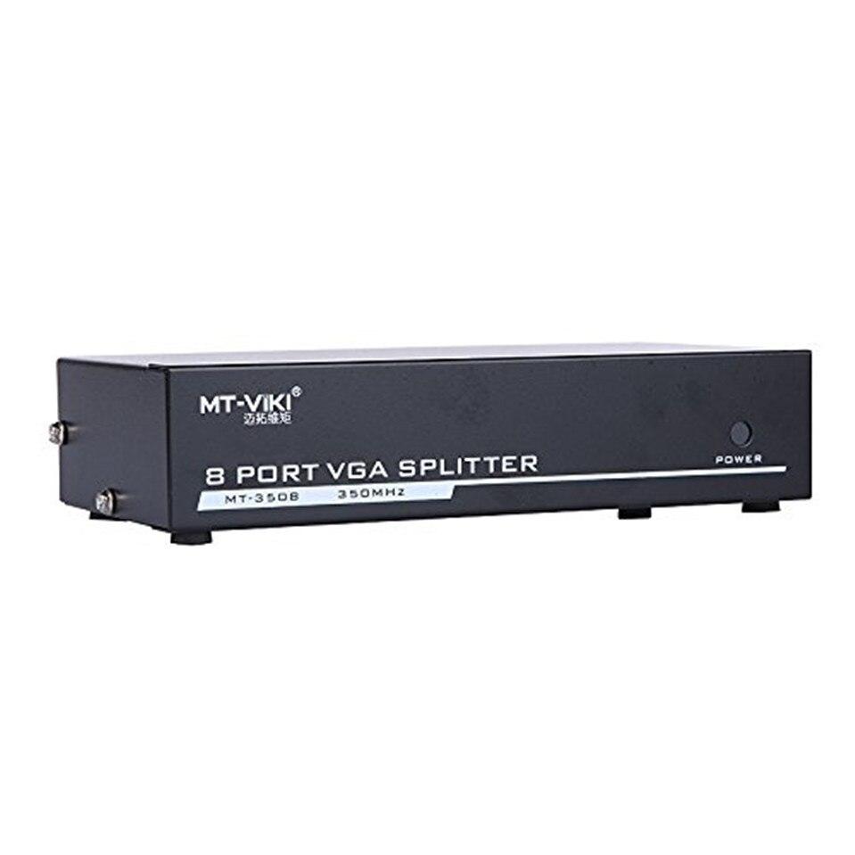 MT-Lamoda maituo 8 Порты и разъёмы VGA Video Splitter 1 Вход 8 Выход 1 предмет компьютер хост Дисплей на 8 мониторов синхронно mt-3508