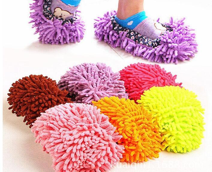2 pcs / pair Multifungsi Menyapu lantai ditemukan malas tarik - Barang-barang rumah tangga