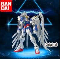 Bandai Gundam MG Wing Gundam Zero 1/100 Mobile Suit Assemble Kits Action Figures Toy Gifts
