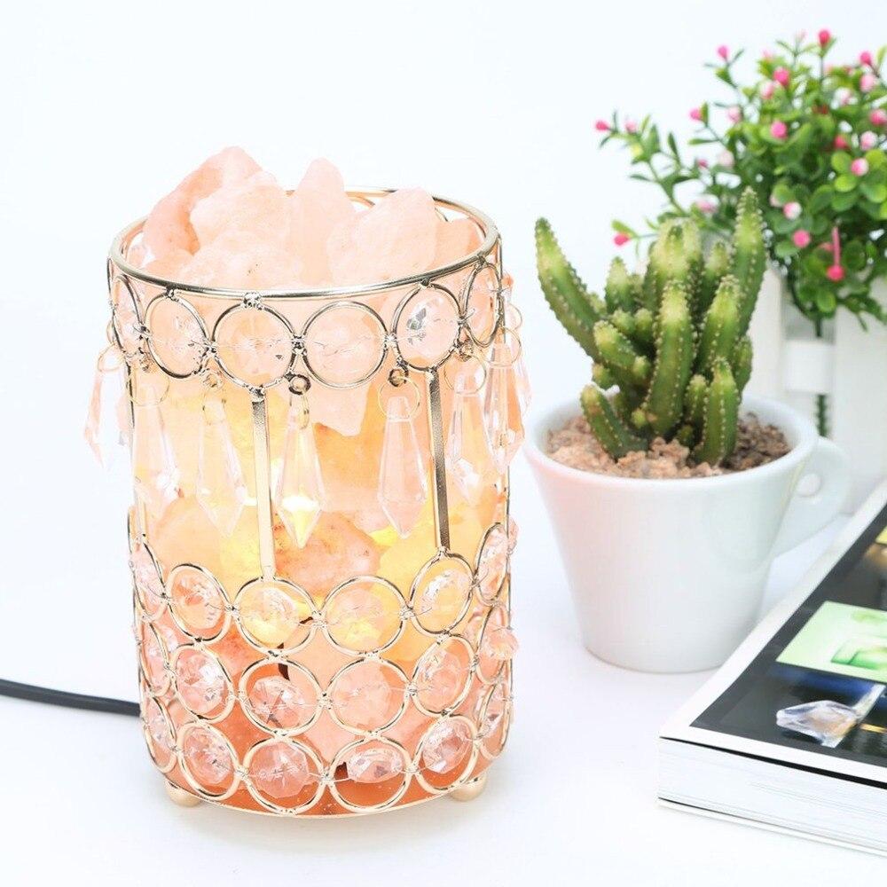 2018 New Purifying Salt LampHealthy Life Himalayan Natural Crystal Salt Light Home Bedroom Night Lamp Air Ionizer Purifier Air