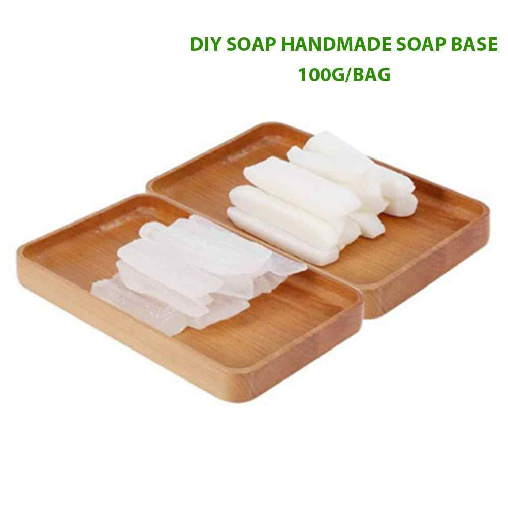 Hand Making Soap Raw Materials Transparent Clear Saft Handmade Soap Base  Diy Gentle Skin Care Soap Making Base 100g