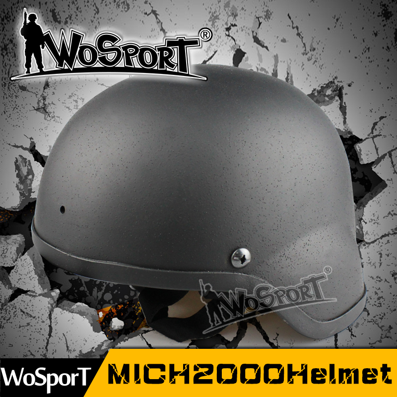 WOSPORT Military MICH 2000 Tactical Helmet Combat Basic Protective Helmet For Airsoft Paintball CS Wargame Cosplay Movies Prop new in stock zuw102412