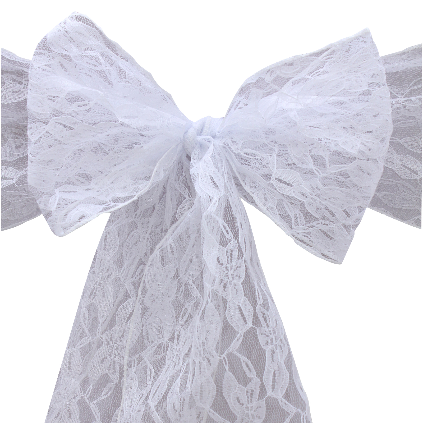 Wedding Chair Covers Alibaba Black Lycra For Sale Fr Stock 100pcs 18x275cm Lace Sashes Bands Bow Ties