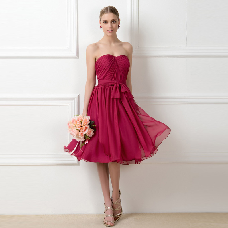 Popular Short Summer Bridesmaid Dresses-Buy Cheap Short Summer ...