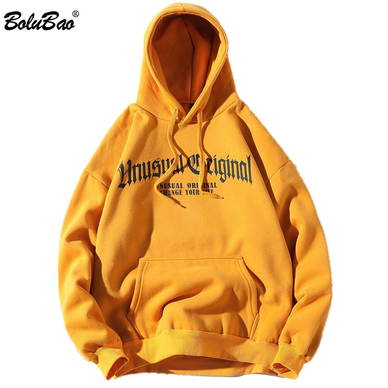 BOLUBAO Fashion Brand Hoodies Men 2019 Autumn Men's Hip Hop Printing Hoodie Male Streetwear Fashion Hoody Top