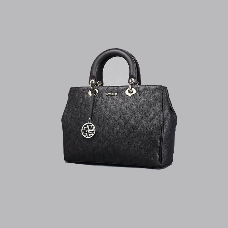 Cow Leather Handbag Pmsix 2017 Shoulder Bag Messenger Simple Quilted Handbags Spy Package In Top Handle Bags From Luggage On