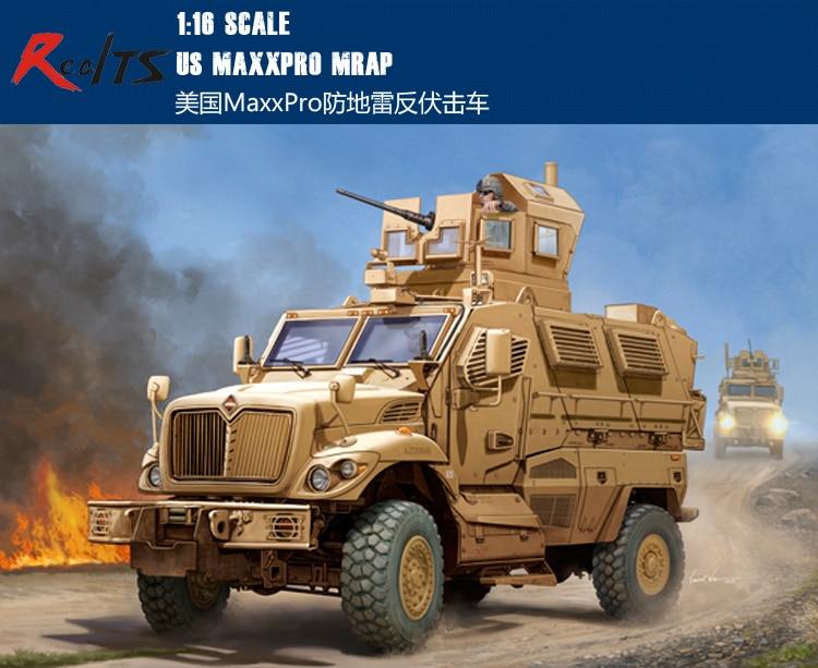 RealTS Trumpeter 1/16 00931 US Maxxpro MRAP