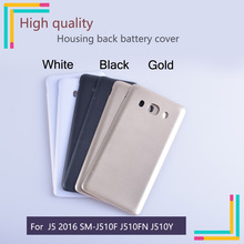50Pcs/lot For Samsung Galaxy J5 2016 SM-J510F J510FN J510M J510Y J510 Housing Battery Cover Back Cover Case Rear Door Chassis смартфон samsung galaxy j5 2016 sm j510fn white